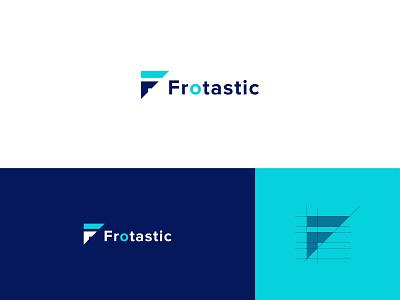 Frotastic Logo Design   F Letter logo brand identity logos logodesign logo branding logo mark logotype clean design company brand logo logo design f creative logo f modern logo f logo