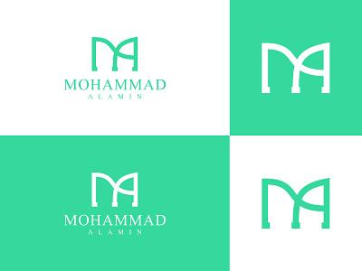 Mohammad Al Amin Logo Design design logo modern logo unique logo logo mark creative logo logotype moder branding business logo logodesign company brand logo ma ma icon ma sign ma logo  ideas ma letter mark logo ma logos ma logo
