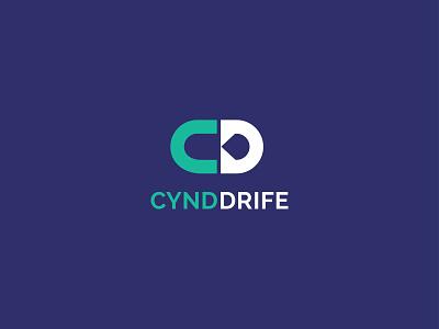 CD Letter Mark Logo Design | Cynd Drife Logo Design logotype branding design unique logo logodesign modern logo illustration