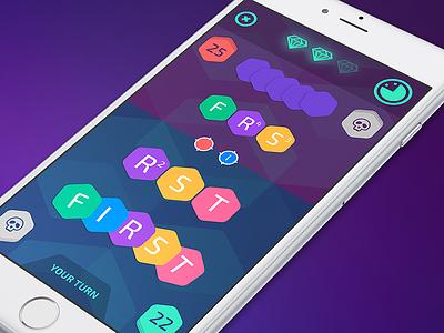 F1RST ux app gameplay cards ios ui design iphone game