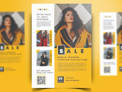 Creative Fashion Flyer Template Design in Photoshop vector ui logo illustration design backup back branding chand backupgraphic posters poster design posterdesign flyers poster poster art flyer template flyerdesign flyer design flyer