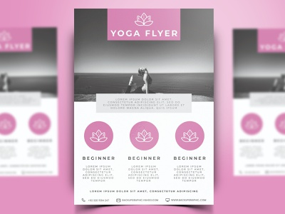 Yoga Flyer Template Design PSD promotion health gym backupgraphic chand templatepsd psdtemplate yoga posters poster design posterdesign poster art poster flyers flyerdesign flyer template flyer design flyer