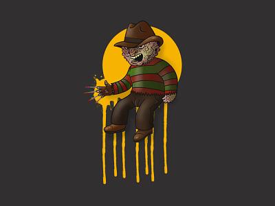 Wee Freddy procreate practice leihu illustration