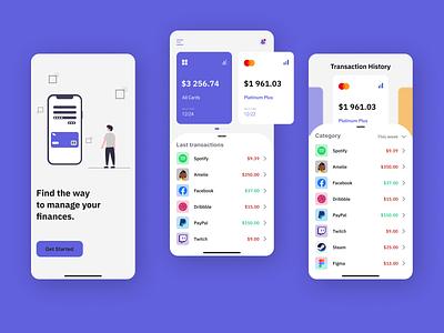 Mobile Banking App brand bank ui finance app finances finance bank banking app banking bank app mobile ui mobile app mobile app ui design
