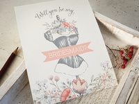 Wedding card design using one of my products