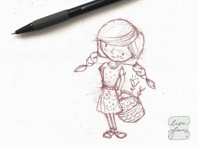 Emily: Character Development  illustration design character