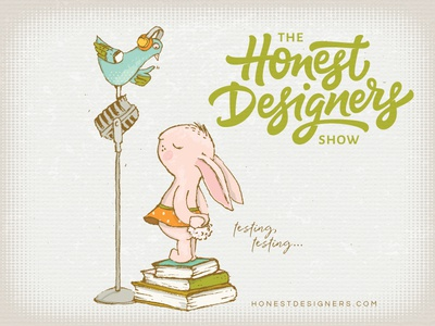 The Honest Designers Show Podcast character design graphic design illustration podcast