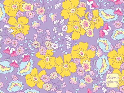 Lacey Lane pattern floral pattern illustrator surface pattern pattern