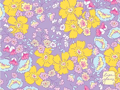 Lacey Lane pattern floral pattern illustrator surface pattern pattern