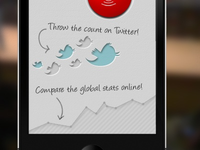 Splash screen counting app splash screen splashscreen app iphone mobile ios