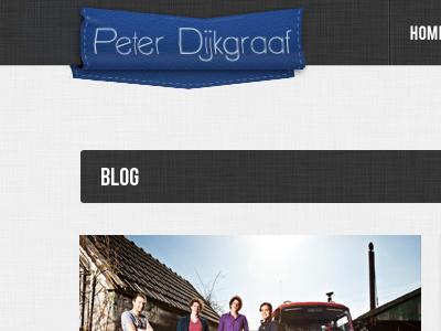 Detail shot of my upcoming portfoio website logo texture ribbon website portfolio ui blog detail user interface