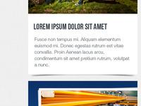 Item holder for my portfolio website