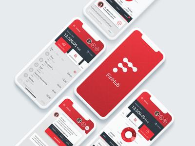 FinHub - Multi account and investment management app