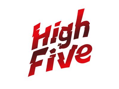 Hi Five Lettering