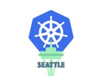 Seattle Kubernetes Meetup Logo