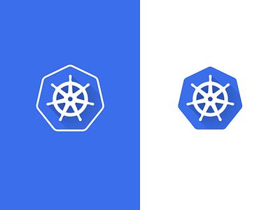 Kubernetes Logo, Alternative logo identity kubernetes