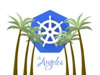 Los Angeles Kubernetes Meetup Logo