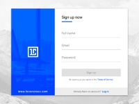 Daily ui challenge  001 sign up