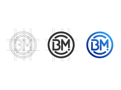 BM io Logo branding logo