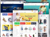 """SHOPPER"" eCommerce web template"