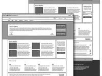Conceptual Wireframe Design