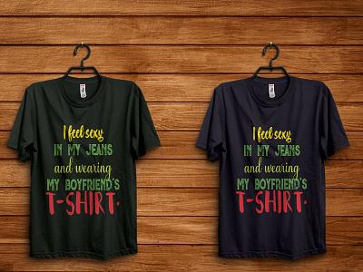 I feel sexy typography tshirt design t shirt typography illustration design kdp svg