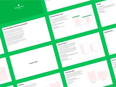 Nextdoor - iPad Design Guidelines nextdoor guide presentation design system design guidelines ipad guidelines ipad app