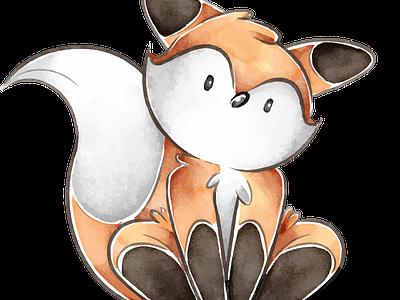 Cute fox kawaii art cute drawing fox