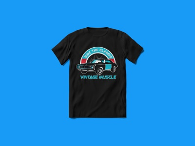 Vintage Muscle T-shirt Design redbubbleshop teesdesign teespring tshirts tees custom tshirt design muscle car tshirt car tshirt design car tshirt flyer ui ux funny tshirt tshirt tshirt design tshirt art typography merchandise illustration vector