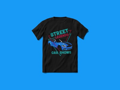 Street Legend Car T-shirt Design tees design tshirtdesign muscle car tshirt tees vintage tshirt tshirt designer car tshirt tshirt design template tshirt design online tshirt design ideas flyer ux funny tshirt tshirt tshirt design tshirt art typography merchandise illustration vector