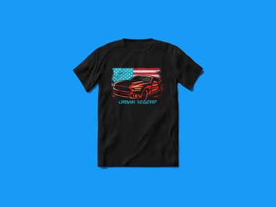 Urban Legend Car T-shirt Design texture tees design tees urban design urban art urban legend car tshirt custom tshirt design custom tshirt ui ux branding tshirt funny tshirt tshirt design tshirt art typography merchandise illustration vector