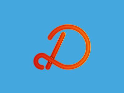 D type d lettering