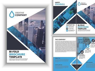 Bi Fold Design flyers design brochure template brochure mockup brochure design brochure bifold brochure design bifold bifold brochure design branding