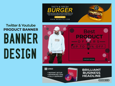 Banner Design products product design productdesign adobe photoshop adobe illustrator social social media social media design ads ads banner ads design banner design banner ads banner banner ad banners illustration brand identity identity design branding