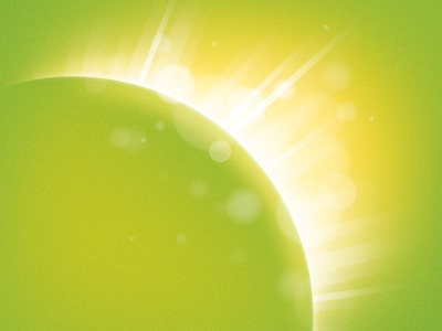 Deutsche Eco Licht: Key Visual light rays world led
