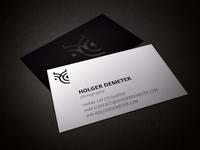 Holger Demeter Photography: Business Card