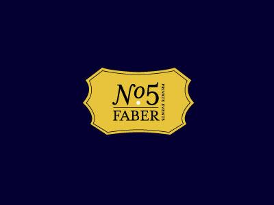 No.5 faber