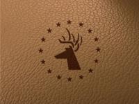 Deer Star stencil