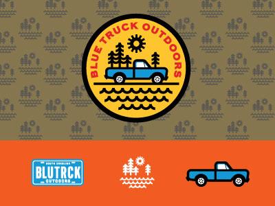 Blue Truck Outdoors