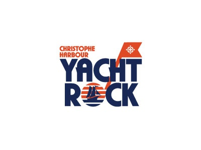 Christophe Harbour Yacht Rock branding fresh vector design logo icon illustration typography