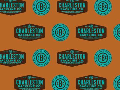Charleston Backline Company branding retro poster design logo icon packaging illustration typography