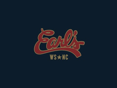 Earl's Winston Salem, NC branding restaurants fresh vector design logo icon packaging illustration typography