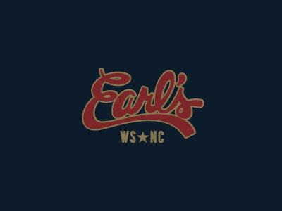 Earl's Winston Salem, NC branding restaurants fresh vector design logo icon packaging illustration typography