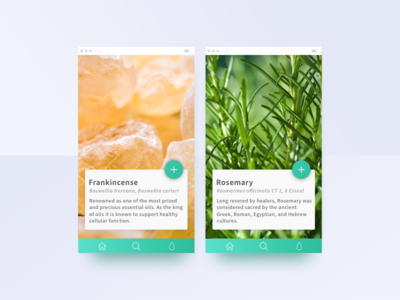 Essential Oils Redesign image material mobile