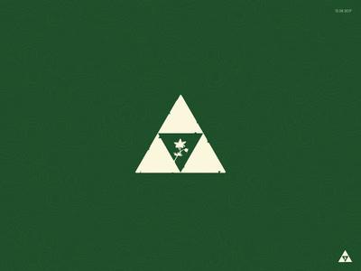 Silent Triforce video game botw silent princess breath of the wild hyrule flat icon link nintendo zelda triforce