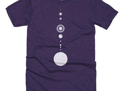 Planetary Alignment tshirt t-shirt triblend tee t shirts pluto alignment solar system planets planet