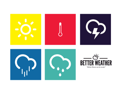 Better Weather weather icon square summer