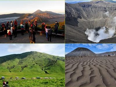Paket Wisata Bromo dari Surabaya 2 Hari 1 Malam traveling volcano trekking indonesiatourism transportation mountain hiking travel