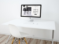 Day&Night Brand Landingpage