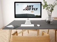 The Art Of  Fly Website